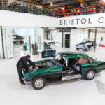 Bristol Cars' former service and restoration facility in west London