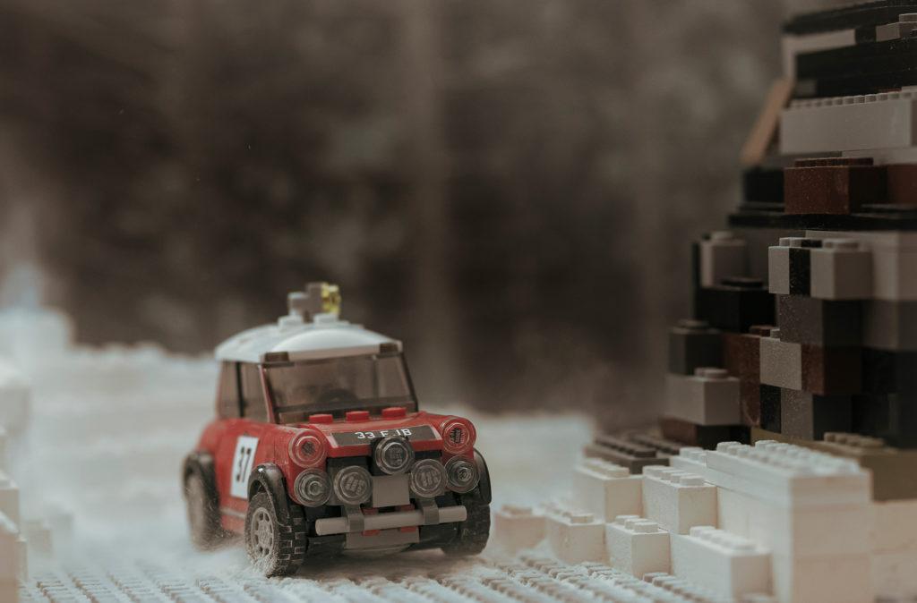Dominic Fraser Lego Mini scene