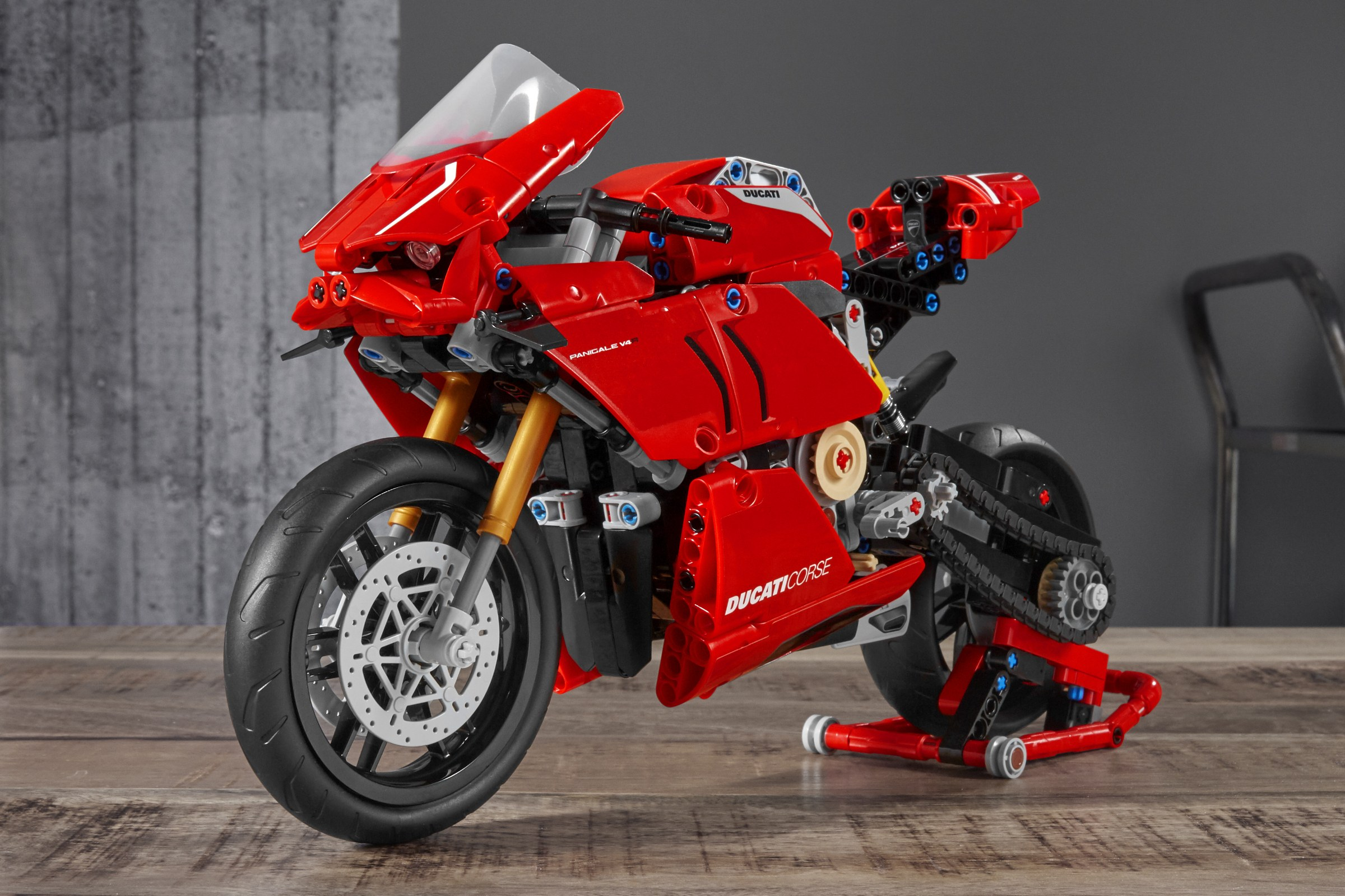 The Lego Technic Panigale V4 R is the Ducati superbike we can all afford