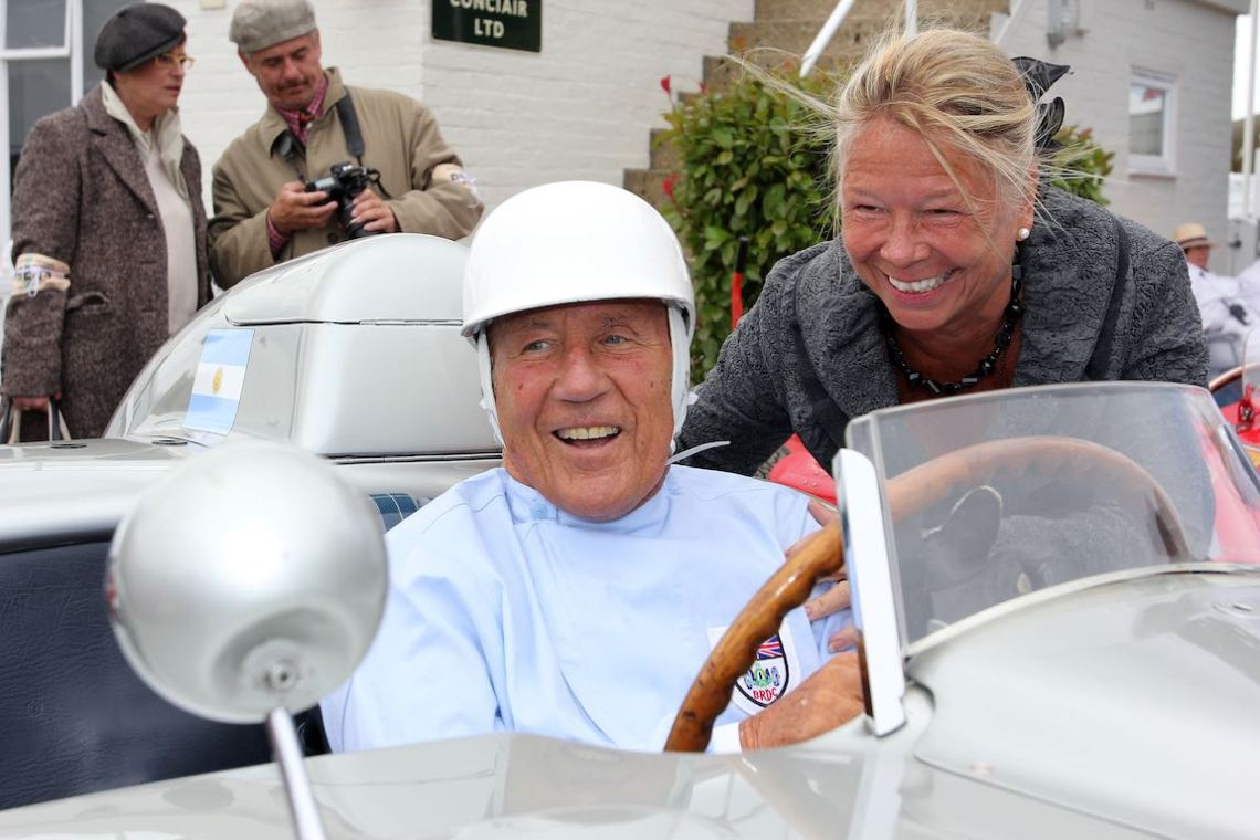 Stirling Moss spoils family and friends with gifts from his £20 million will