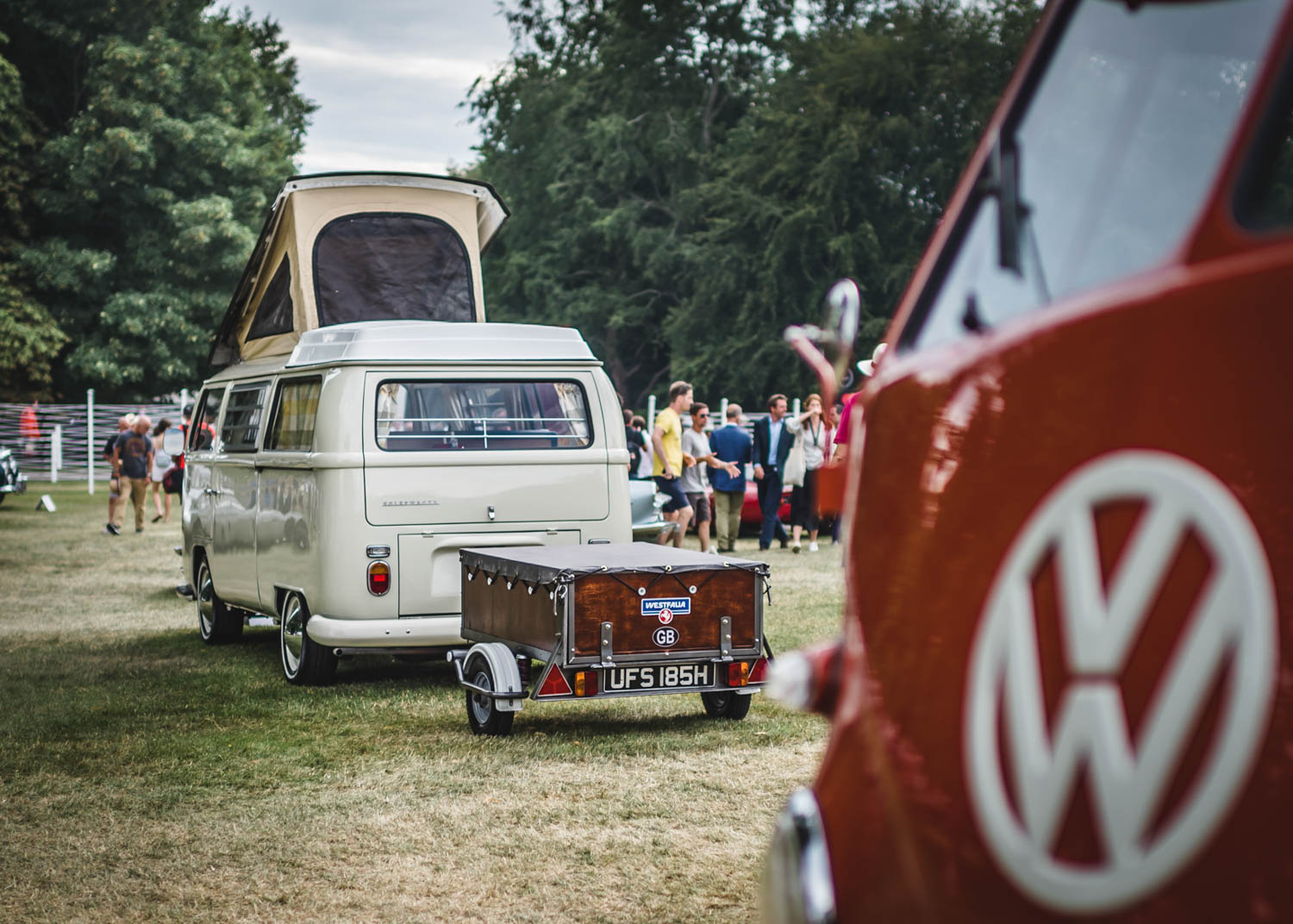 A VW Type 2's Journey from a well-loved family classic to the lawns of Goodwood