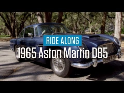 1965 Aston Martin DB5 Ride Along