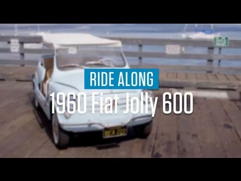 1960 Fiat Jolly 600 ride along