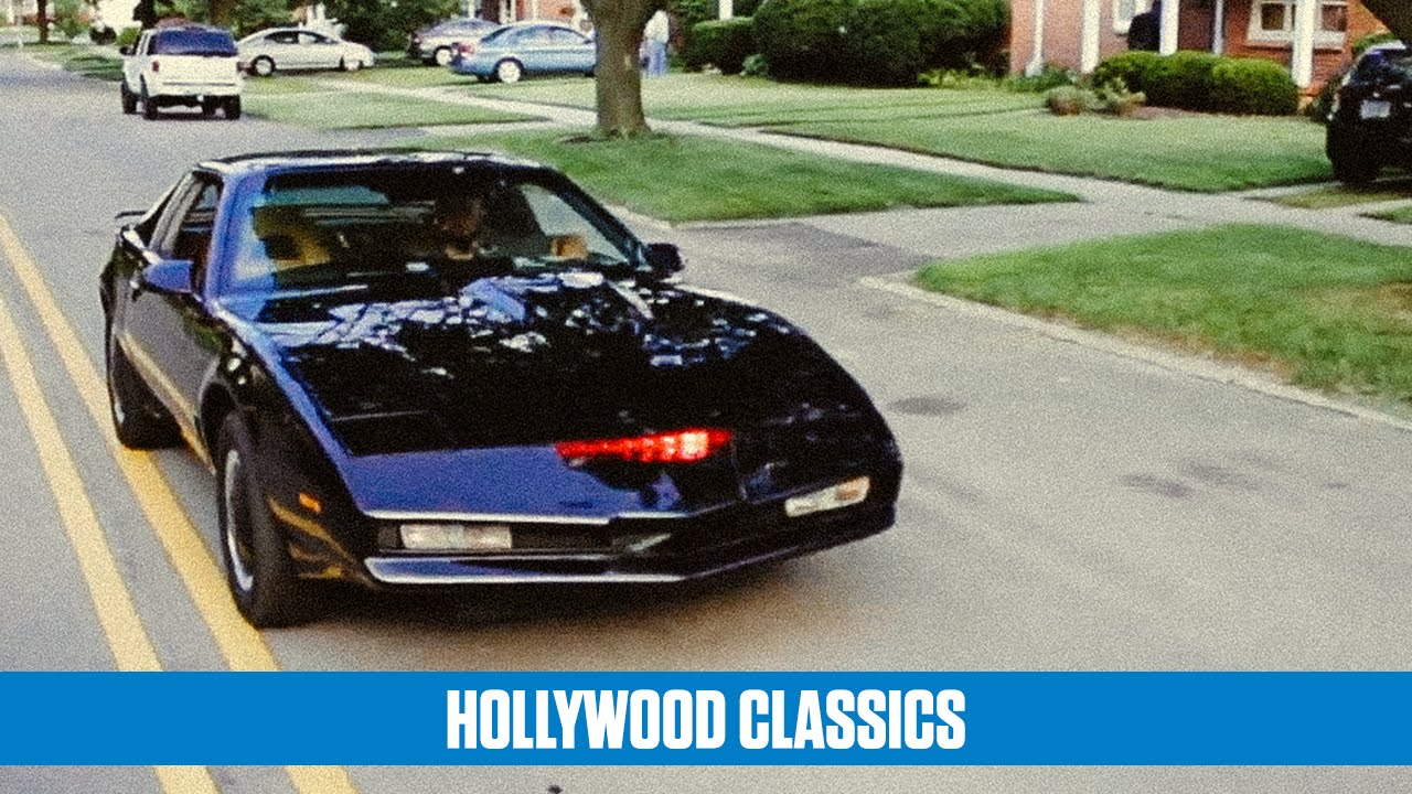 Homemade KITT 'Knight Rider' replica car