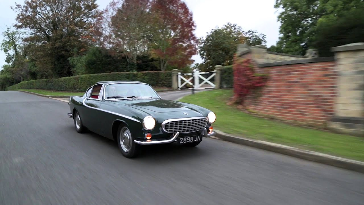 1963 Volvo 1800S ride along