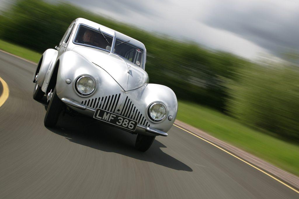 Aston Martin Atom at full tilt