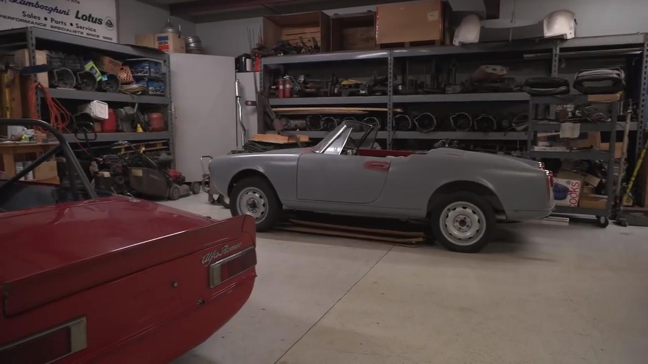 Tour a treasure trove of classic Alfa Romeos with Barn Find Hunter