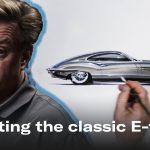 Chip Foose redesigns the Jaguar E-Type coupe