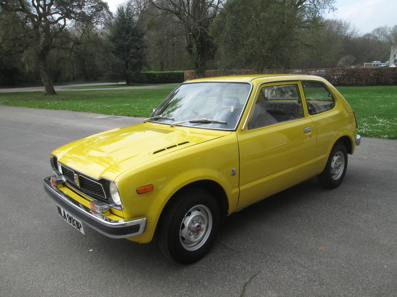 Civic Pride: the 1975 Honda Civic   Hagerty UK
