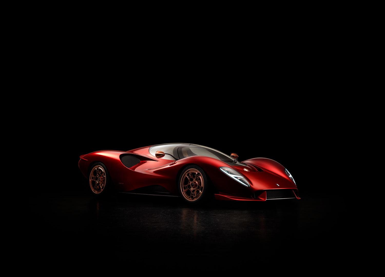 The Stunning New De Tomaso P72