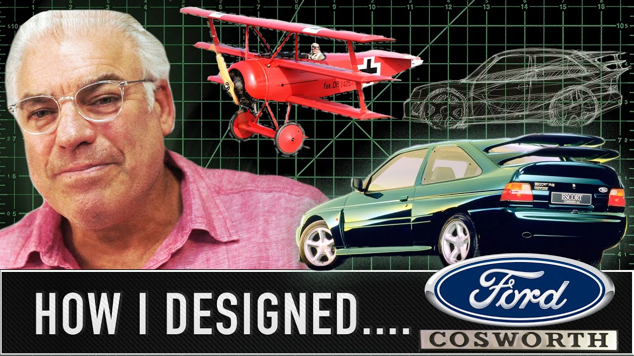 Frank Stephenson: Beancounters stopped the Ford Escort Cosworth having three rear wings