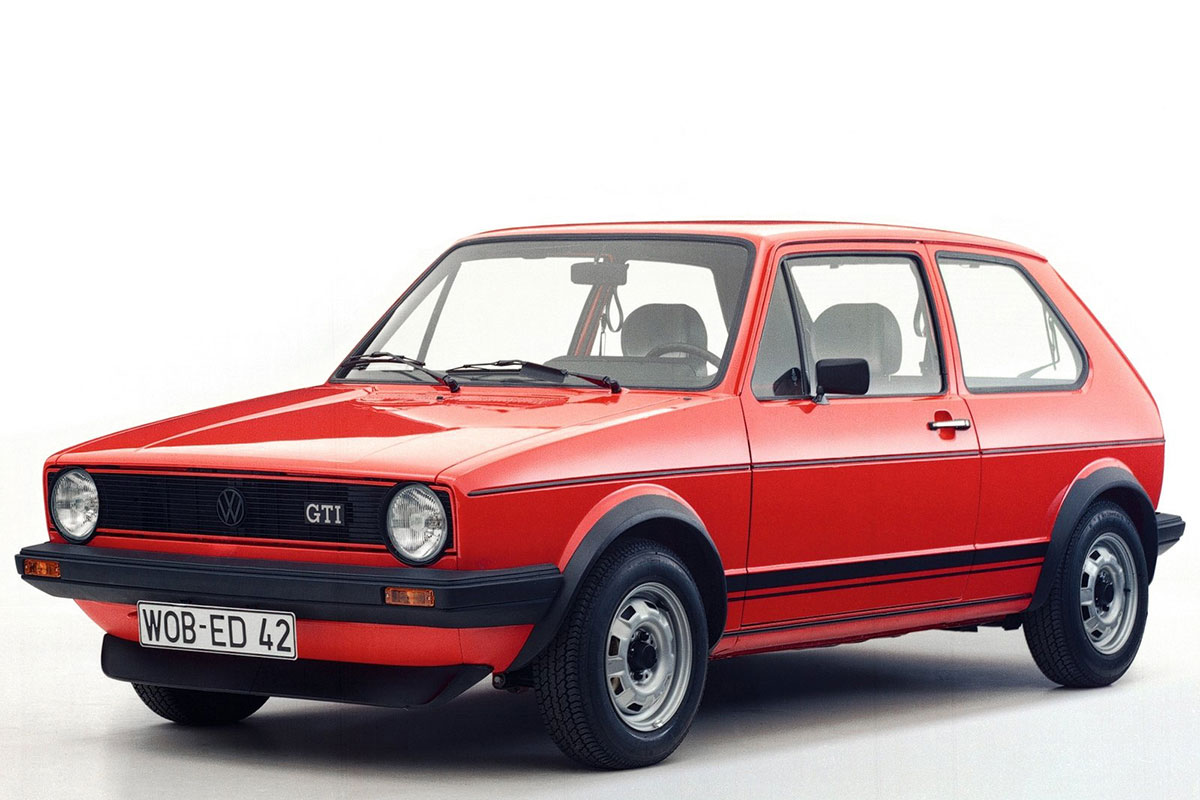 The Birth of a Legend: The Volkswagen Golf GTI
