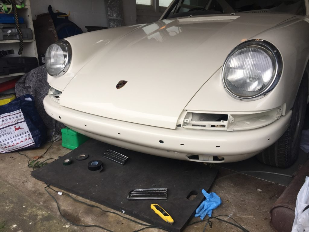 Restoration of Porsche 912 owned by John Mayhead of Hagerty