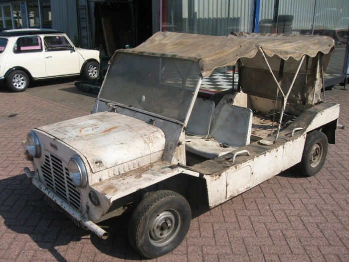 'The Prisoner' Moke escapes from Holland