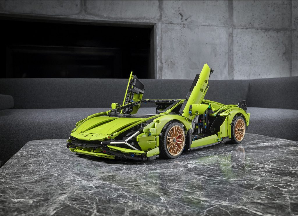 Lego's most expensive car set is a… Lamborghini