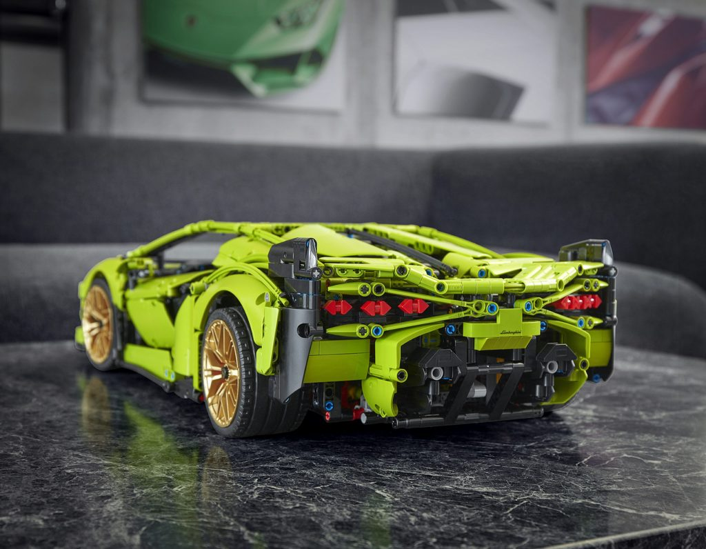 Lego Technic Lamborghini Sián is the most expensive Lego car and costs £349