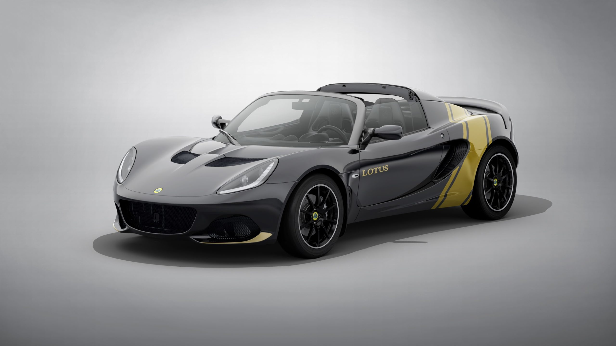 Classic motorsport colours for the Lotus Elise