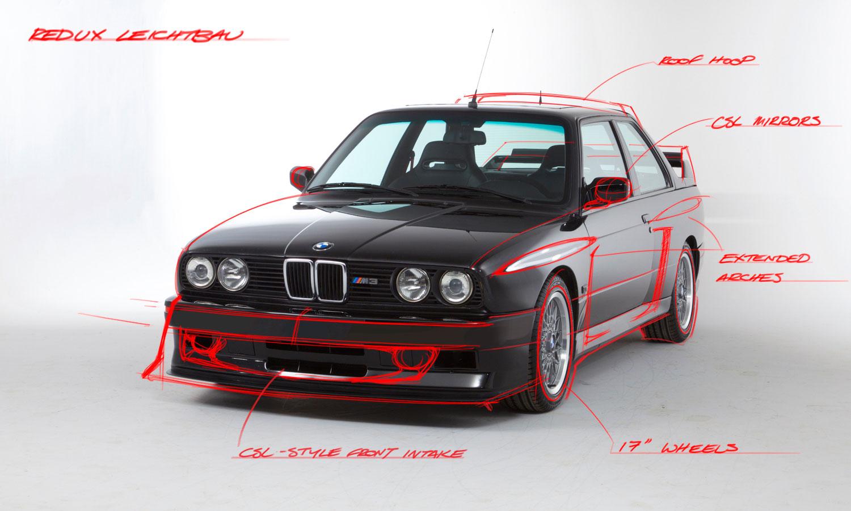 Redefining a Legend: The Redux E30 M3 Leichtbau