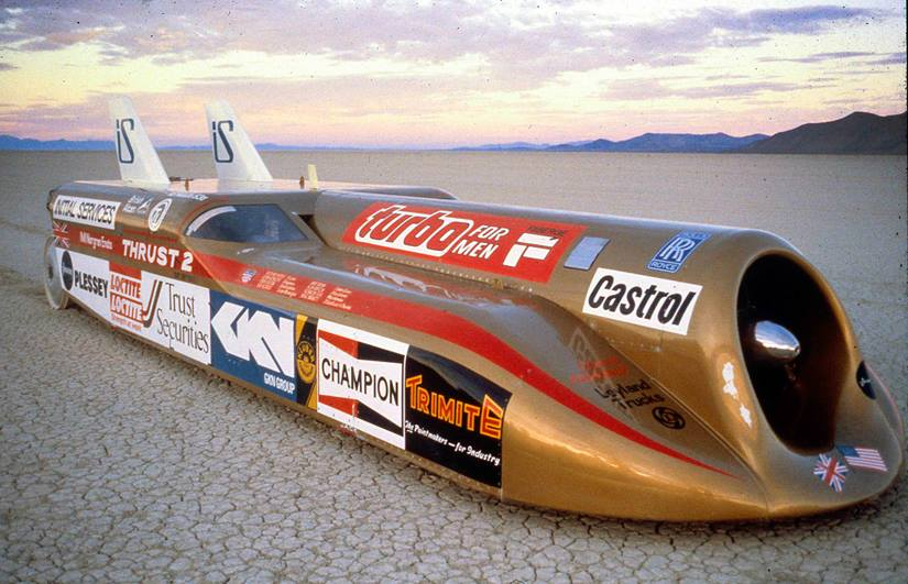 Thrust2 conquered Nevada's Black Rock Desert as well as the land speed record