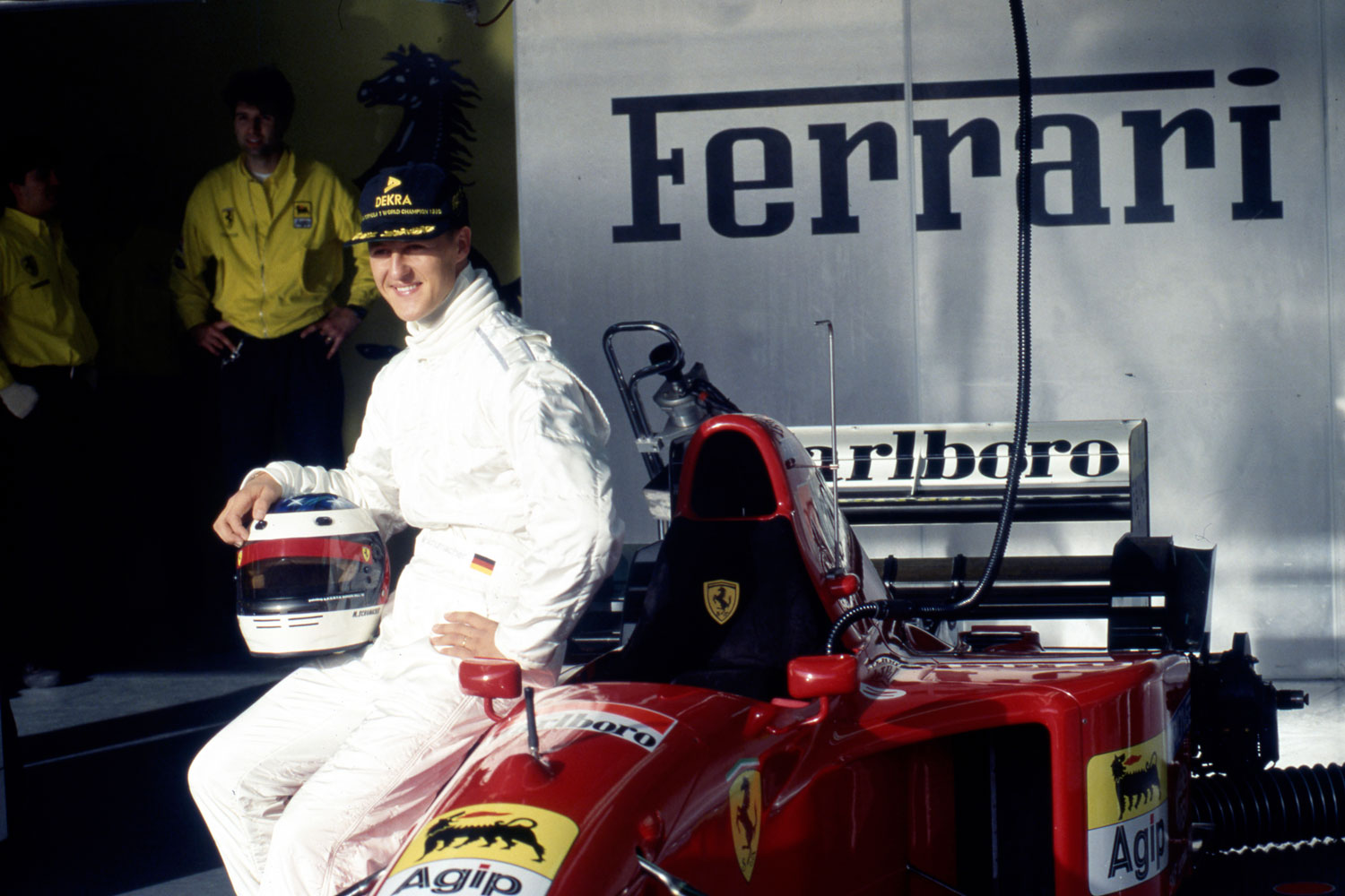 The Art Of Selling The First Ferrari F1 Car Driven By Michael Schumacher Hagerty Uk