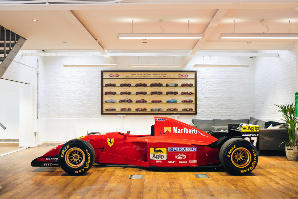 How much is a Schumacher F1 Ferrari worth?