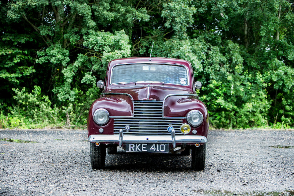 The Jowett Javelin is one of the most significant cars of the immediate post-war period (Bonhams)