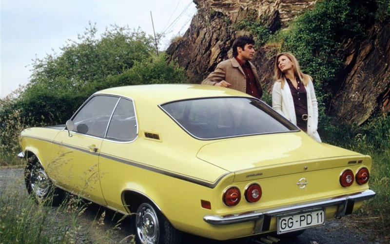 The Opel Manta was a better steer than a Ford Capri (Photo: Opel)