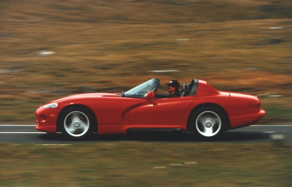Viper could be vicious if not handled with care (Photo: Chrysler)