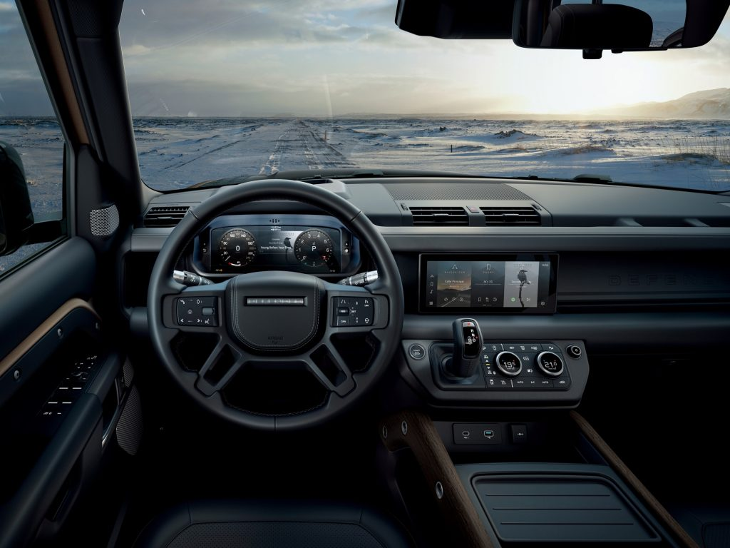Driving the 2020 Land Rover Defender proves it's ready to conquer the world again_interior photo_Hagerty