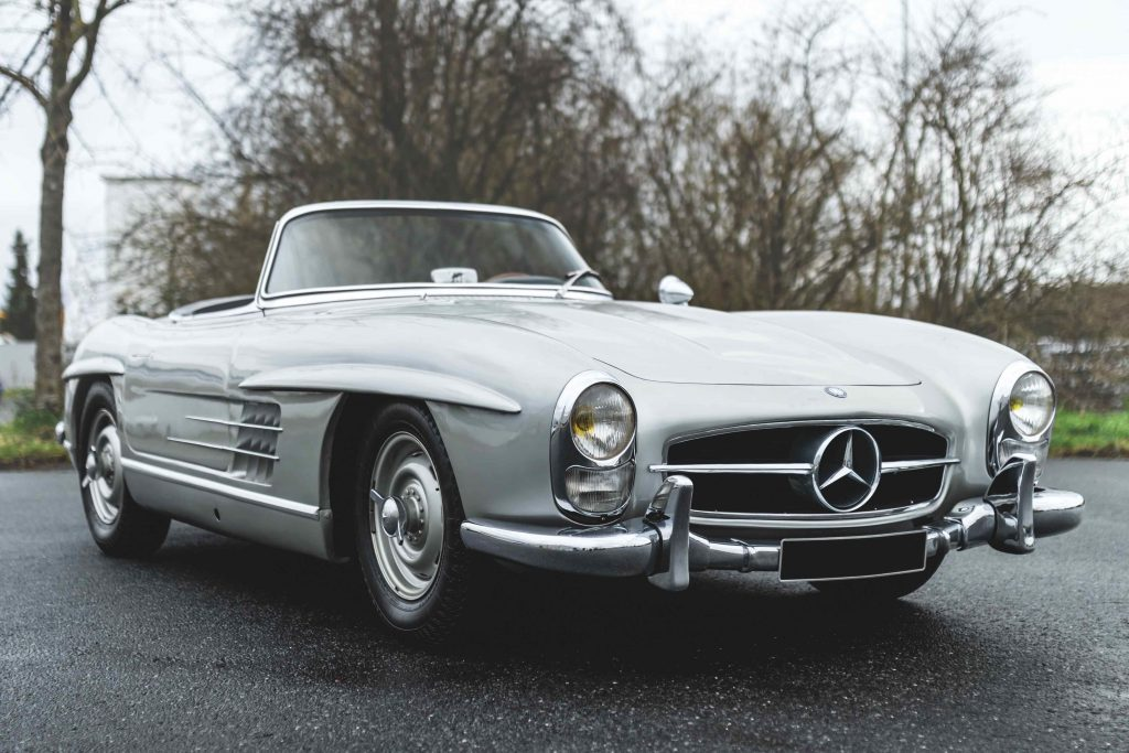 1958-Mercedes-Benz-300-SL-Roadster Petitjean auction