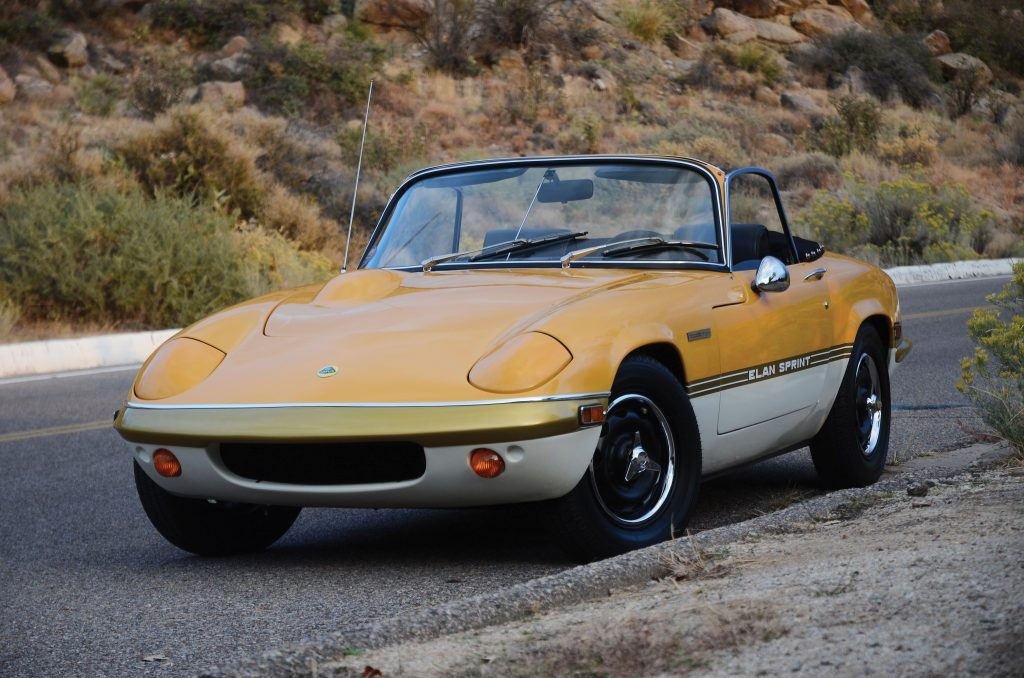 Lotus Elan Sprint_10 cars with cool graphics_Hagerty