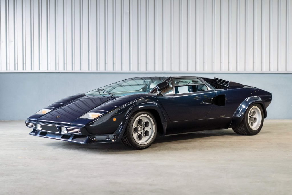 1979 Lamborghini Countach LP400 S by Bertone