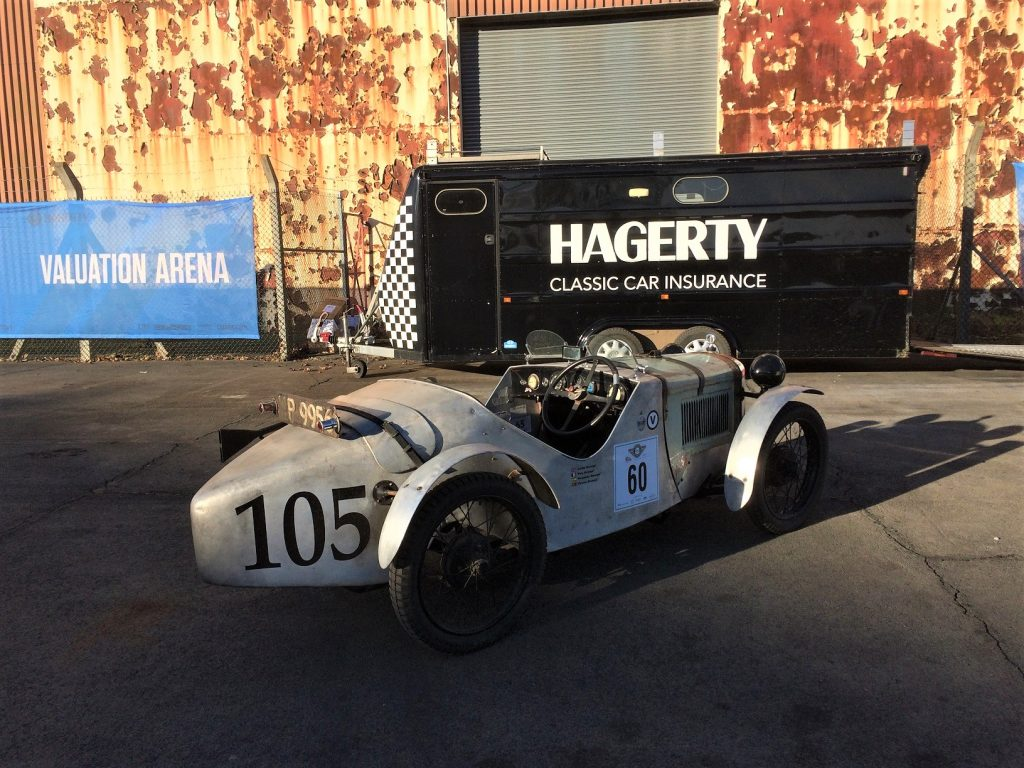 The 1923 Austin Seven is the earliest classic car tracked in the 2020 UK Hagerty Price Guide