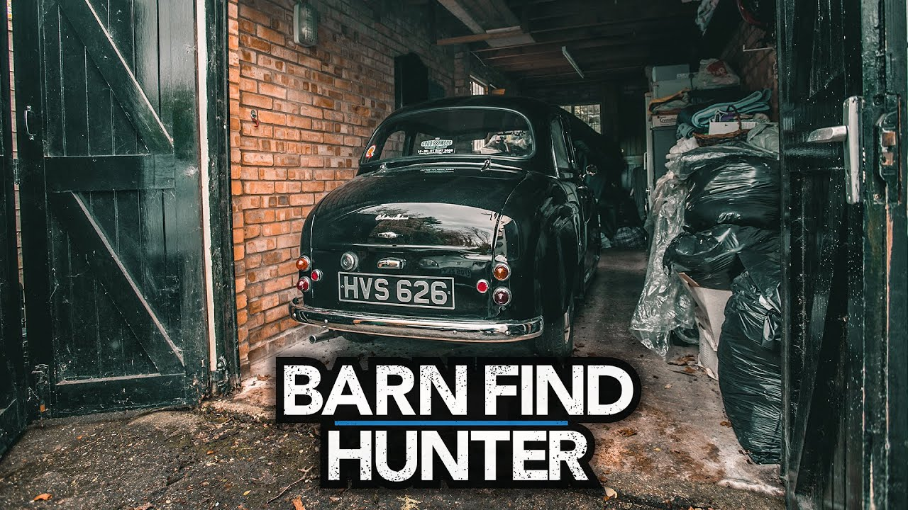Barn Find Hunter UK visit part 2