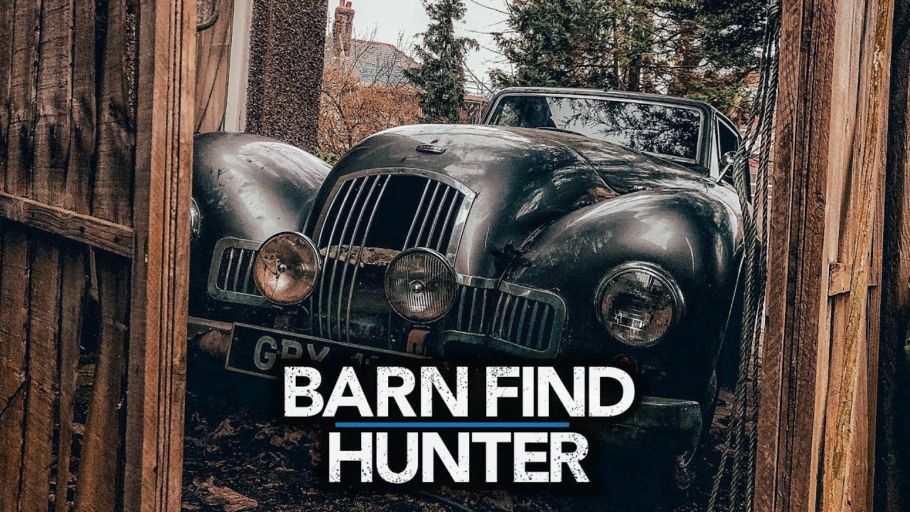 Barn Find Hunter in the UK
