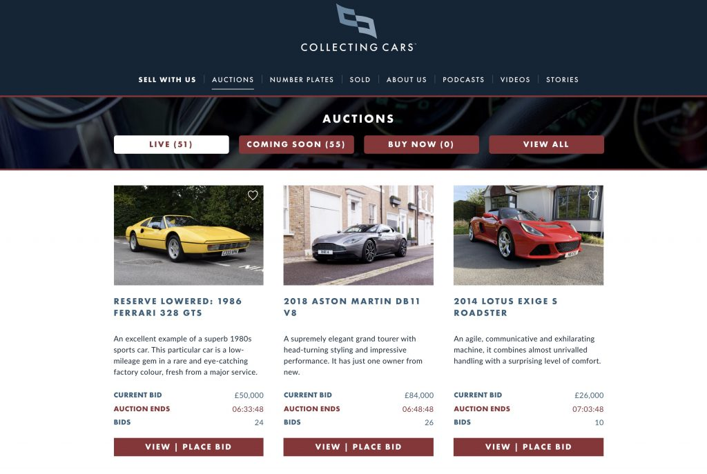 Collecting Cars_The rise of online classic car auctions_Hagerty investigates