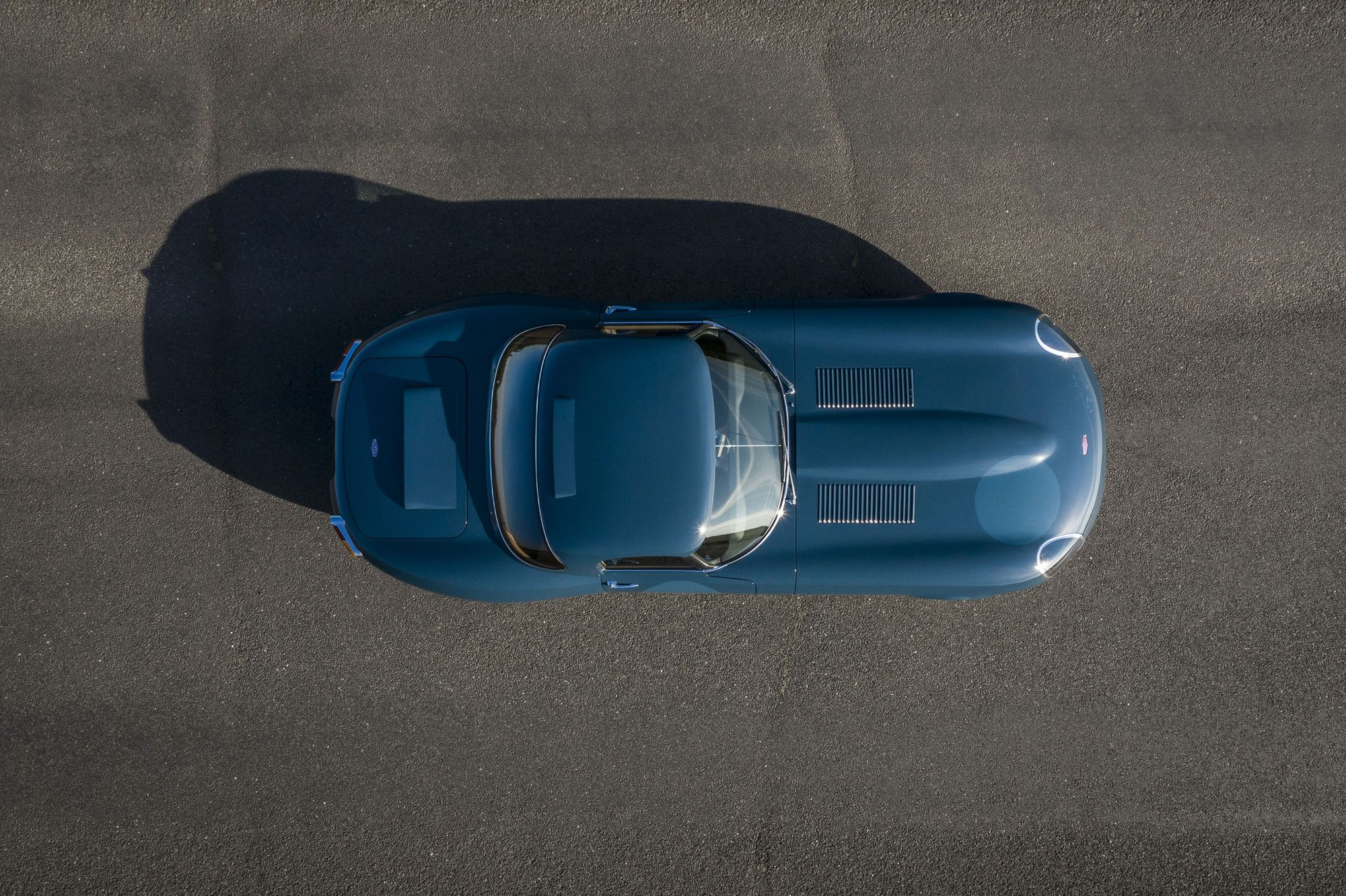Overhead view of the Eagle E-Type Lightweight GT_Hagerty