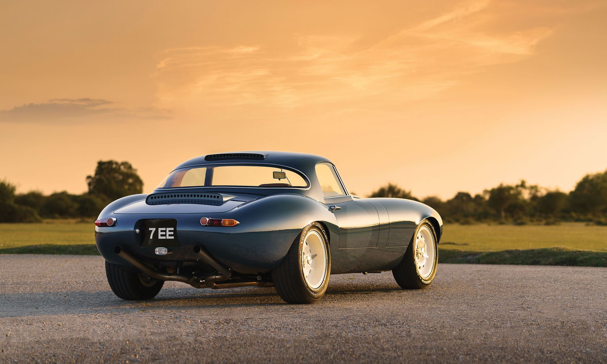 Rear view of the Eagle E-Type Lightweight GT_Hagerty