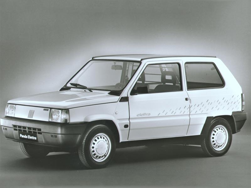 The 1990 Fiat Panda Elletra