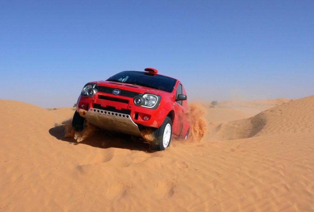Fiat Panda contests Dakar 2007