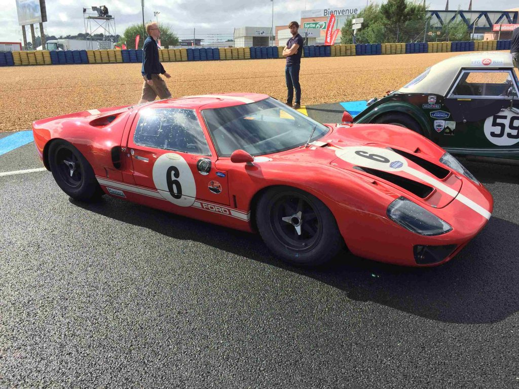 Ford GT40 at Le Mans
