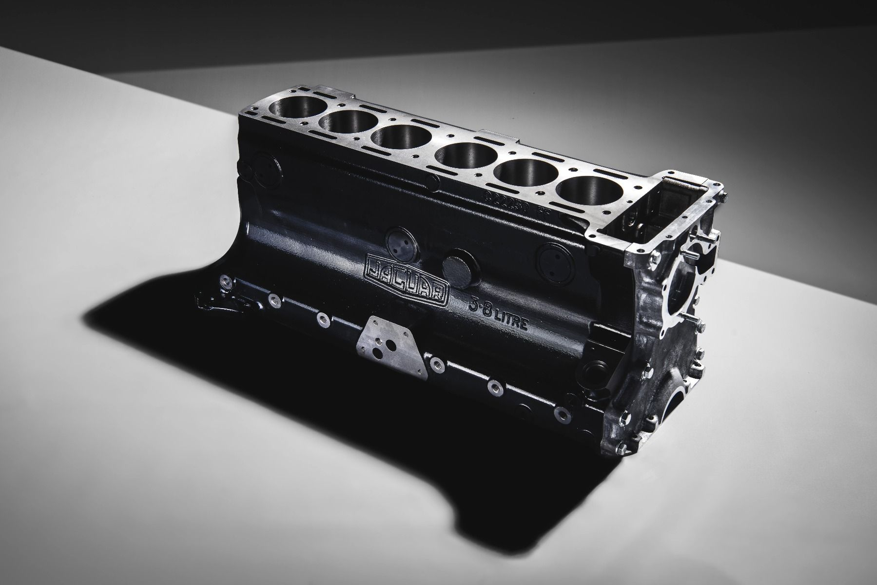 Jaguar will sell you a new XK straight-six engine block