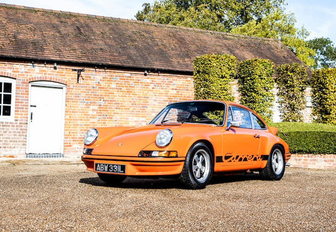 PORSCHE 911 2.7 RS_10 cars with cool graphics_Hagerty