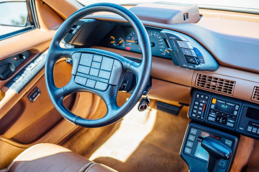 Pontiac Grand Prix Turbo steering wheel_Hagerty