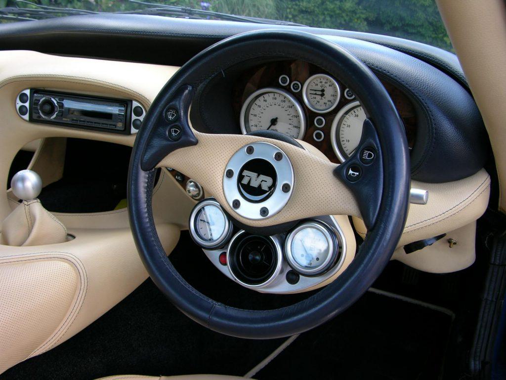 TVR-Cerbera-Speed-Six steering wheel_Hagerty