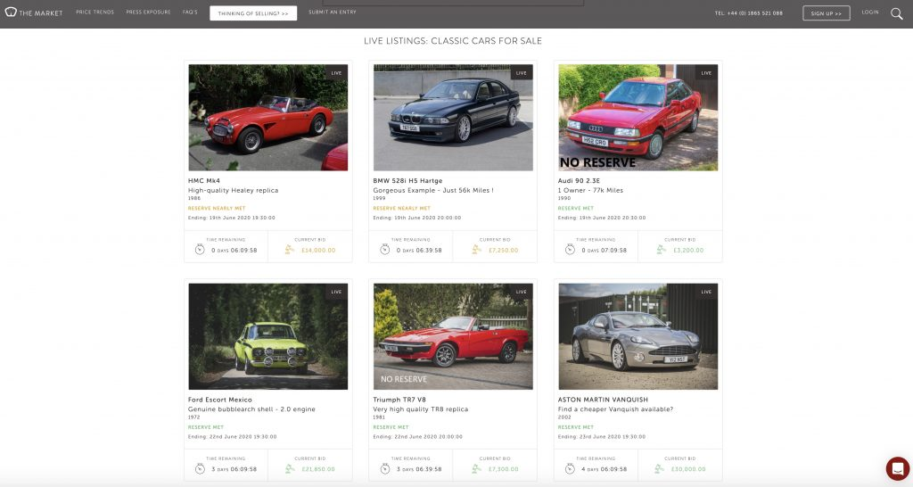 The Market_the rise of online classic car auctions_Hagerty investigates