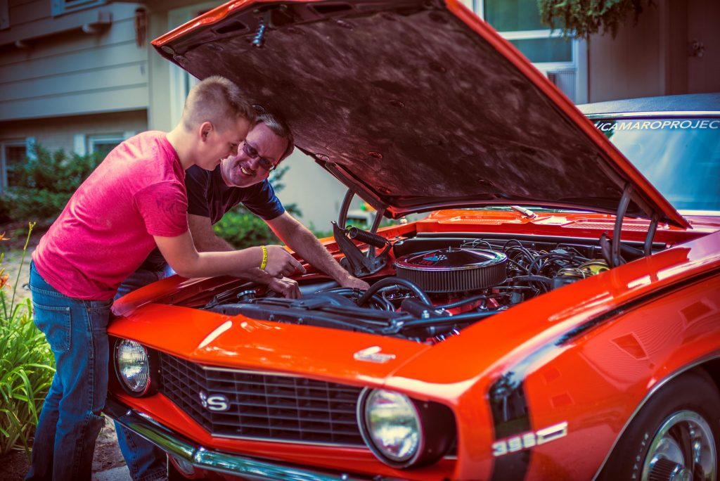 Why not help your dad fix his classic car this fathers Day_Gabe Augustine