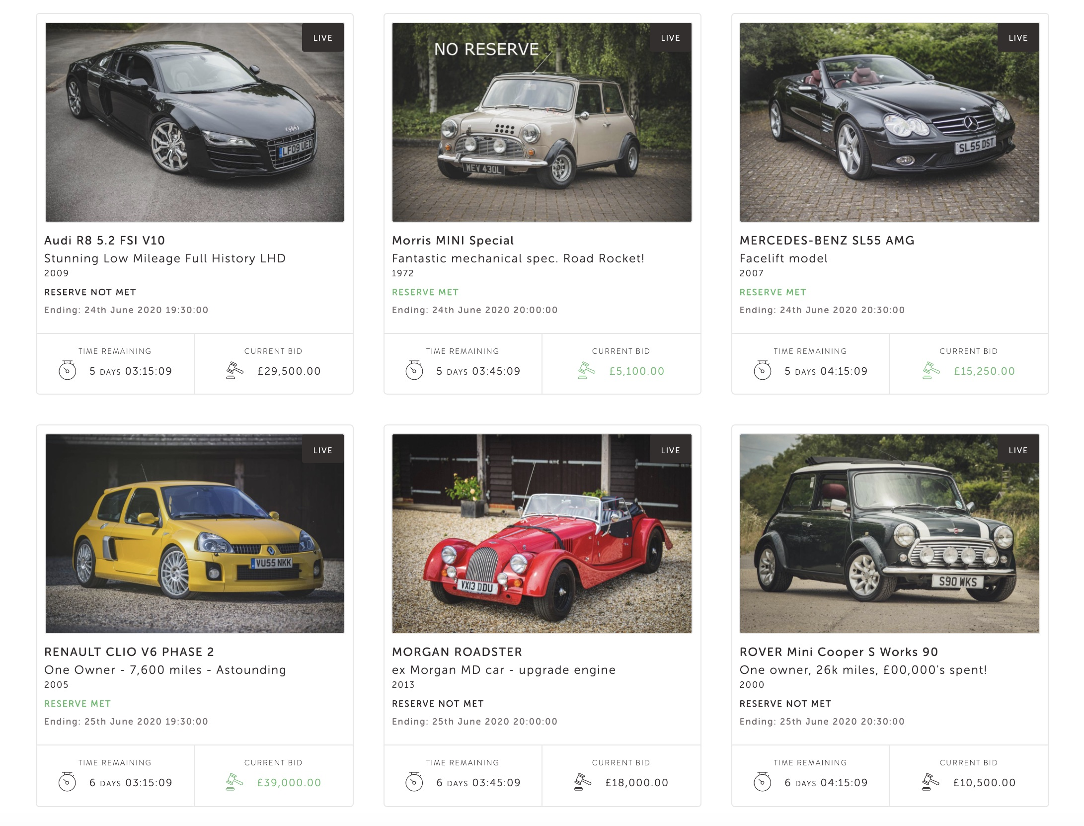 Click and collect: the rise of online classic car sales