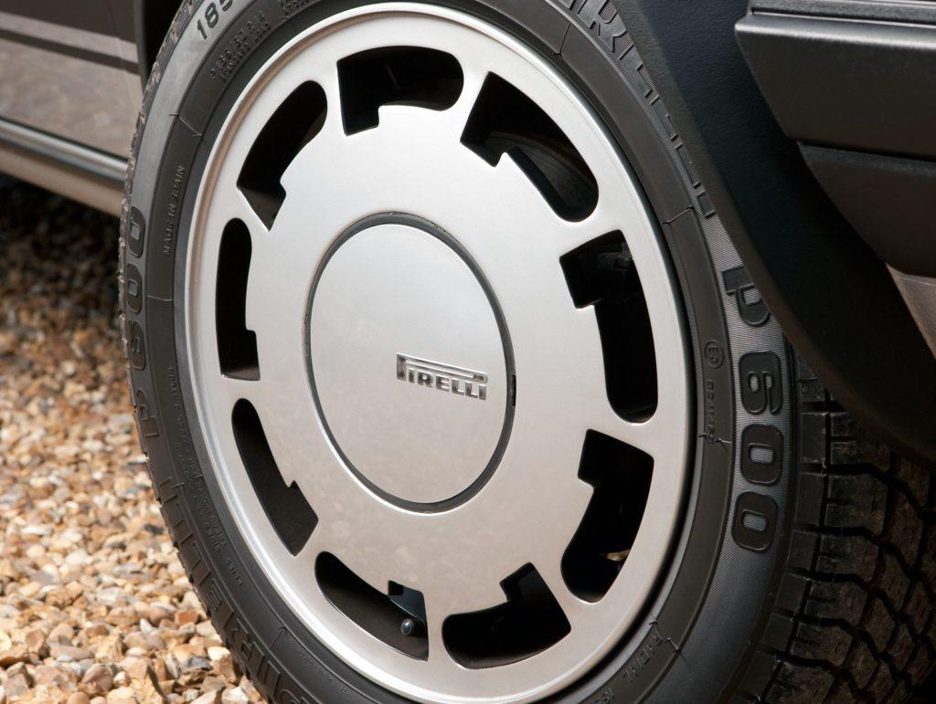 Analysis: Hot hatches vs Ferrari Testarossa – Hagerty Price Guide_2020_Volkswagen Golf GTI MkI Pirelli alloy wheels