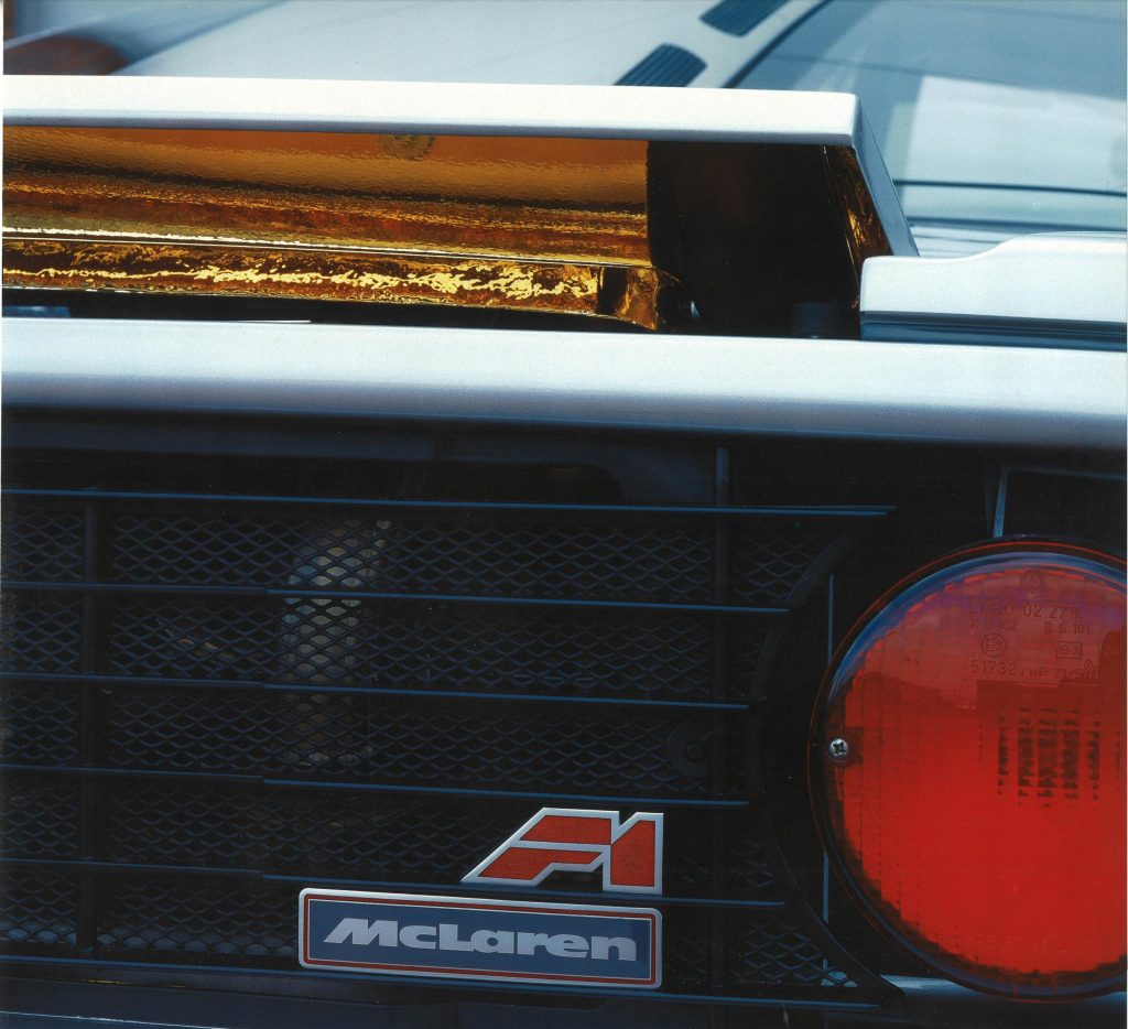 McLaren F1 engine featured gold for heat-insulation_Hagerty